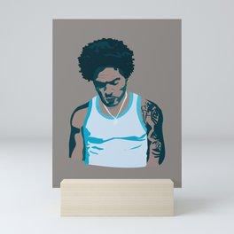Lenny Kravitz - Portrait III Mini Art Print