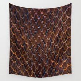 Cobra snake skin pattern Wall Tapestry