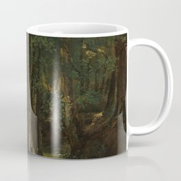 Robert-Léopold Leprince - Interior of a Wood at Pierrefitte Coffee Mug