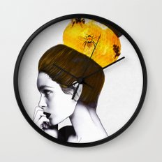 The Bee Hive Wall Clock