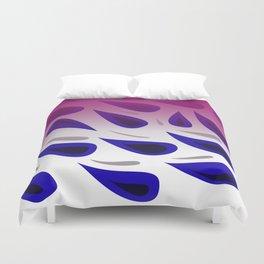 design Blue elements Paisleys Duvet Cover