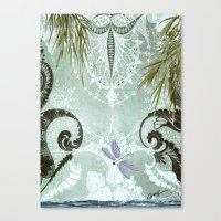 tiffany Canvas Prints featuring tiffany lake by Ariadne
