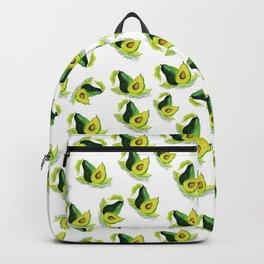 Green Avocado Pattern Backpack