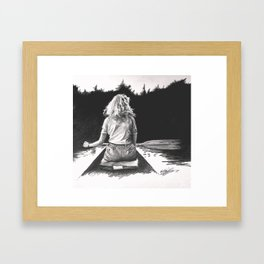 """Day Dream"" Framed Art Print"
