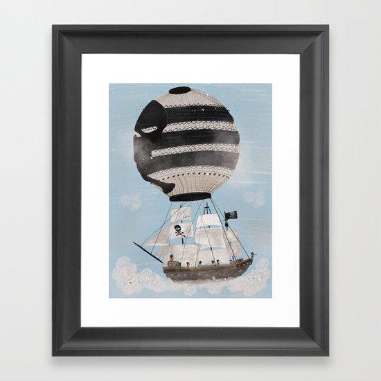 sky pirates Framed Art Print