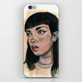 Candy Girl iPhone Skin