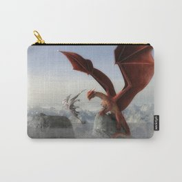 Dragon Fight Carry-All Pouch