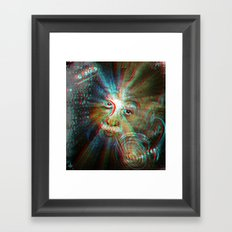 3d Theory Framed Art Print