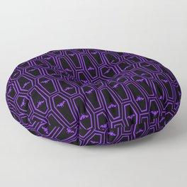 Hanging Til' Halloween - Purple Floor Pillow