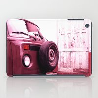 vw bus iPad Cases featuring VW Bus 17B by Julia Aufschnaiter