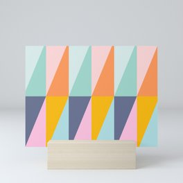 Scandi Style Geometry Mini Art Print