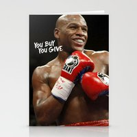 floyd Stationery Cards featuring Floyd #1 by YBYG