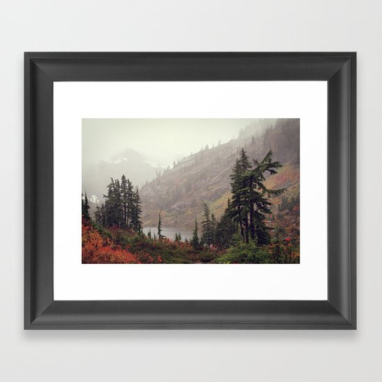 The Colors of Fall Framed Art Print