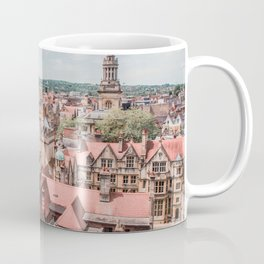 View of Oxford with Steeple | Europe UK City Architecture Landscape Photography Coffee Mug