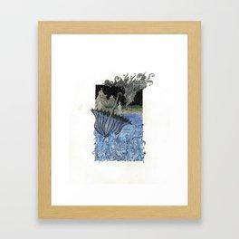 Current Express Framed Art Print