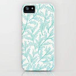 Branches – Mint Palette iPhone Case