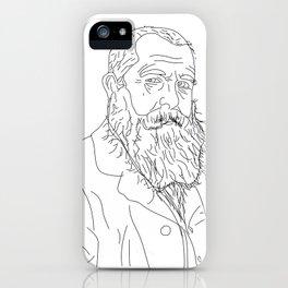 Monet - Illustration iPhone Case