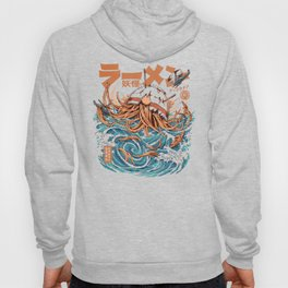 Dark Great Ramen off Kanagawa Hoody