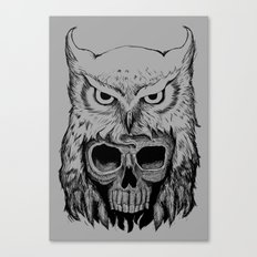 Owlskull Canvas Print