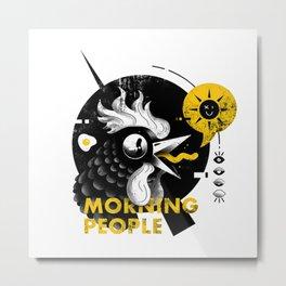 Morning People Metal Print