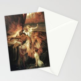Mourning for Icarus - Draper Herbert James Stationery Cards