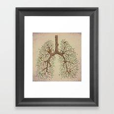 Breathe! Framed Art Print