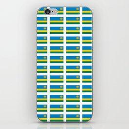 Flag of rwanda -rwanda,Rwandan,rwandais,ruanda,Gasabo,kigali. iPhone Skin