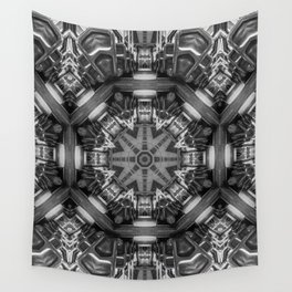 Eight Aisles of Seating Wall Tapestry