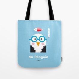 Mr. Penguin Tote Bag