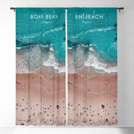 Bondi Beach, Sydney Travel Artwork Blackout Curtain