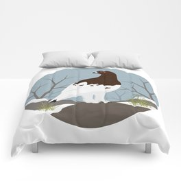 Willow Ptarmigan Comforters