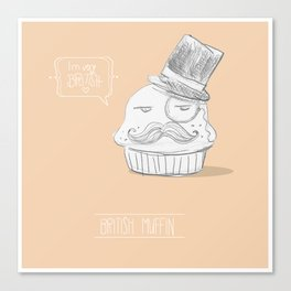 british muffin Canvas Print