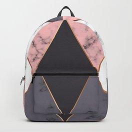 Marble Geometry 018 Backpack