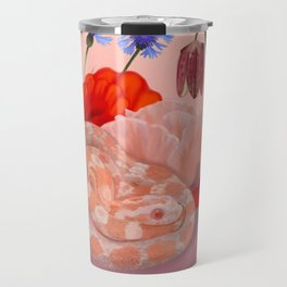 Snek and Poppies Travel Mug