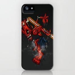Zombie Darth Maul iPhone Case