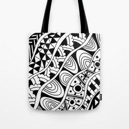 Zentangle Tote Bag