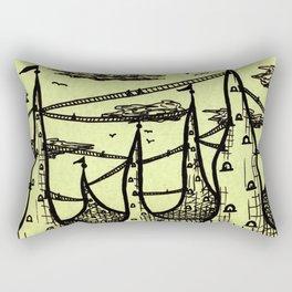 Ant Hill City Rectangular Pillow