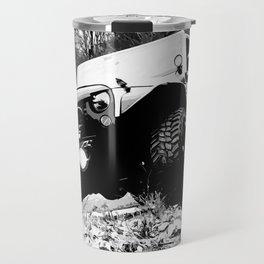 Beefy GP in Black and White Travel Mug