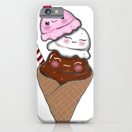 Happy Ice Cream iPhone Case