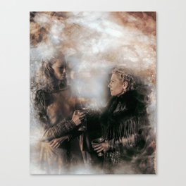 Only One Queen Can Rule Canvas Print