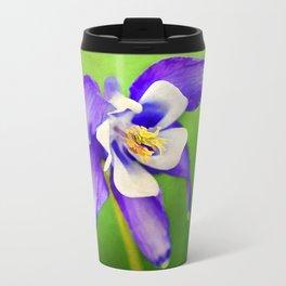 Spring Columbine Travel Mug