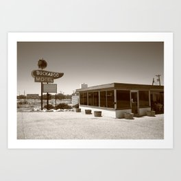 Route 66 - Buckaroo Motel 2012 Art Print