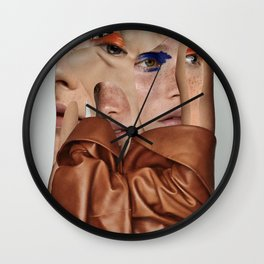 Look into the eyes Wall Clock