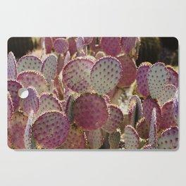 Purple Cactus Cutting Board