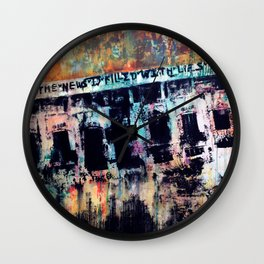 What They Tell Us Wall Clock