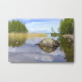 Summer Atmosphere By The Lake #decor #society6 Metal Print