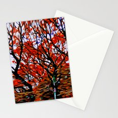 Raging Trees Stationery Cards