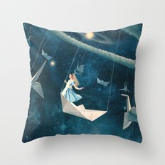 My Favourite Swing Ride Throw Pillow