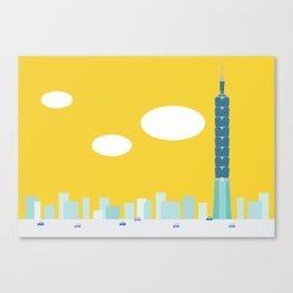 Taiwan Icon - II Canvas Print