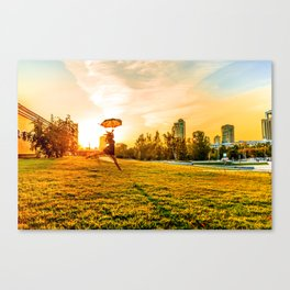 Mary comes back Canvas Print